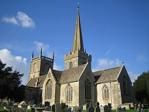 Purton - Image: St Mary's Church, Purton