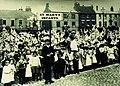 St Marys Infants School children in Saturday Market, Beverley for Queen Victoria's Diamond Jubilee 1899 (archive ref DDPD-2-2-8) (25381071806).jpg