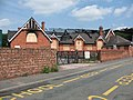St Peter's church hall, burnt out - geograph.org.uk - 1939725.jpg
