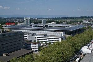 Stade de Suisse - Exterior view, 2011