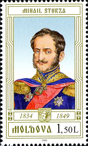Mihail Sturdza - Commemorative stamp