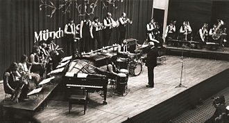 Stan Kenton - Stan Kenton with his band in Münich, Germany, September of 1973