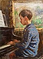 Stanhope Forbes The Young Pianist 1926.jpg