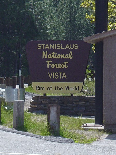 File:Stanislaus National Forest Sign.jpg