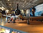 Static Display USS Lexington SBD-2 Dauntless front.JPG