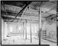 Steam Room interior, second floor, SW view. - Hallowell Mill, Hallowell, Kennebec County, ME HAER ME,6-HAL,9-2.tif