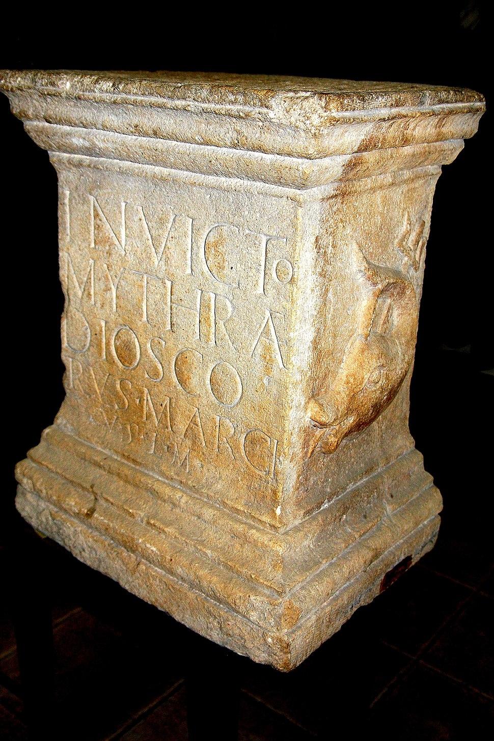 Stela funerara MItra MNIR