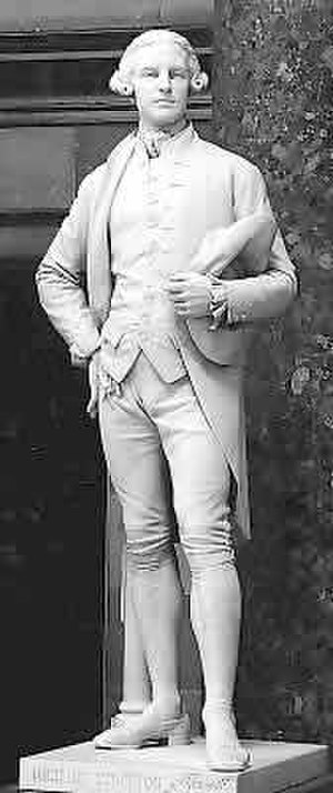 Richard Stockton (Continental Congressman) - Richard Stockton, National Statuary Hall Collection statue