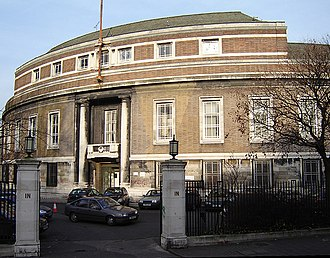 Metropolitan Borough of Stoke Newington - Image: Stoke newington town hall 2