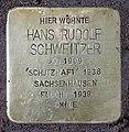 Stolperstein Babelsberger Str 50 (Wilmd) Hans Rudolf Schweitzer.jpg