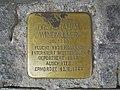 Stolperstein Dr. Abraham Windmüller, 1, Weststraße 40, Mitte, Hamm.jpg