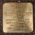 Stolperstein Gleditschstr 50 (Schön) Arthur Goldberg-Weltmann.jpg