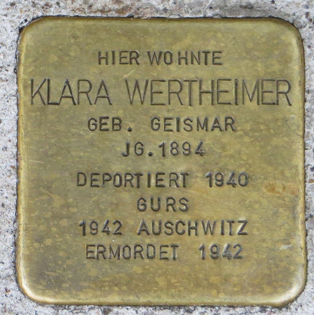 Stolperstein Klara Wertheimer Kehl.jpg