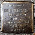 Stolperstein Ruth Manasse Eulerstraße 25 0077.JPG