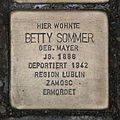 Stolperstein Schleidenstraße 26 Betty Sommer.jpg