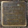 Stolperstein Sredzkistr 54 (Prenz) Leo Goldstein.jpg