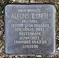 Stolperstein Woelckpromenade 7 (Weißs) Alfons Ilgner.jpg