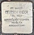 Stolperstein für Andor Deutsch (Miskolc).jpg