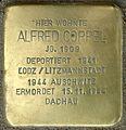Stolpersteine Krefeld, Alfred Coppel (Bahnhofstraße 48).jpg