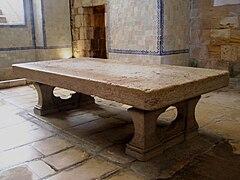 Stone table Alcobaça Monastery.jpg