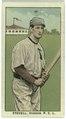 Stovall, Vernon Team, baseball card portrait LCCN2008677355.tif