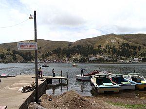 Strait of Tiquina - Strait of Tiquina