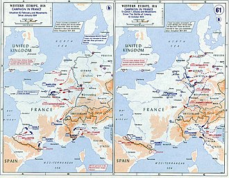 Campaign in north-east France (1814) - Strategic situation in 1814