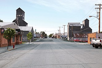 Tioga, North Dakota - Image: Street smarts 41 Tioga North Dakota pop 10249
