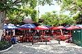 Street food stalls in Parque Santa Ana.jpg