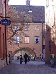 Street in Uppsala