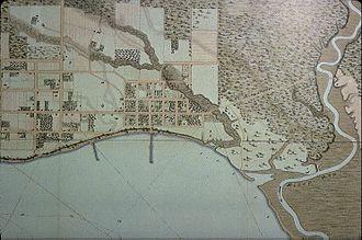 York, Upper Canada - Streetplan of York, circa 1818