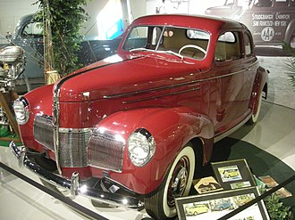 1940 Business Coupe Studebaker National Museum May 2014 072 (1940 Studebaker Champion Coupe).jpg