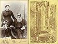 Studio portrait of unidentified man and woman, probably Washington state, ca 1890 (BOYD+BRAAS 9).jpg