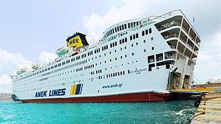 <i>El. Venizelos</i> (ship) Greek ferry