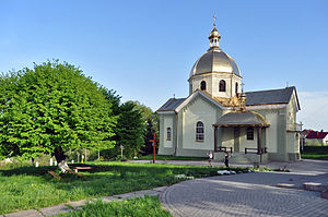 Sudova Vyshnia - Image: Sudova Vyshnia Transfiguration Church 3