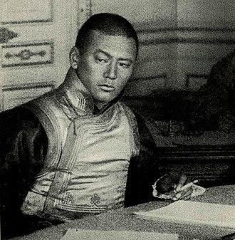 Damdin Sükhbaatar - Sükhbaatar in around 1920-1922
