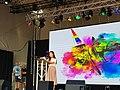Suki Wan MYSP speaking at Pride Glasgow 2018.jpg