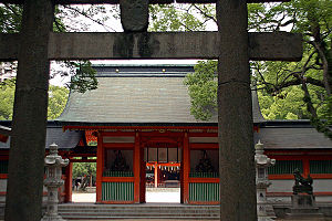 Chikuzen Province - Sumiyoshi jinja