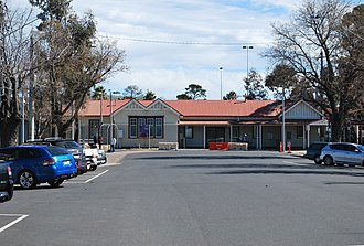 Sunbury railway station, Melbourne - Image: Sunbury Train Station
