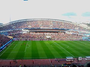 Supergame (association football) - Image: Supermatchen 2012