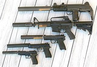 Silencer (firearms)