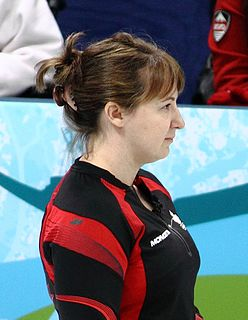 Susan OConnor Canadian curler and Olympic medalist