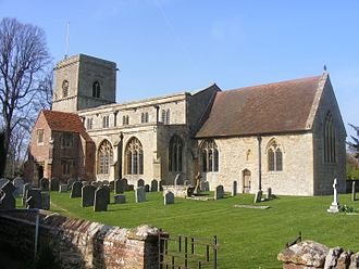 Sutton Courtenay - Image: Sutton Courtney Church from south
