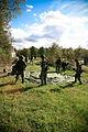 Swedish military conscrips setting up tent.jpg