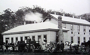 Swifts Creek - The Swifts Creek Butter Factory, c1910, shortly after its opening (refer to text)