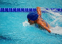 Swimming at the 2008 Summer Paralympics - women Butterfly stroke.jpg