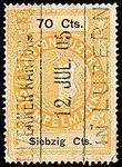 Switzerland Lucerne 1897 revenue 6 70c - 58 - E 1 97.jpg