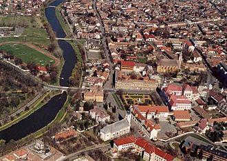 Szentes - Image: Szentes légifotó1