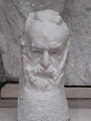 Victor Hugo, tête