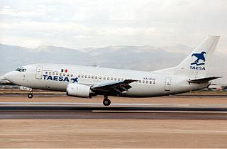TAESA Lineas Aéreas low cost airline